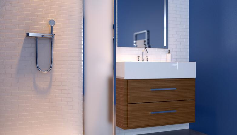 Bagno piccolo idee come fare cosa scegliere - Come fare per andare in bagno ...