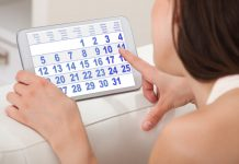 Ciclo in ritardo: calendario mestruale