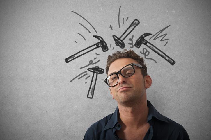 come far passare il mal di testa: dolore alle tempie