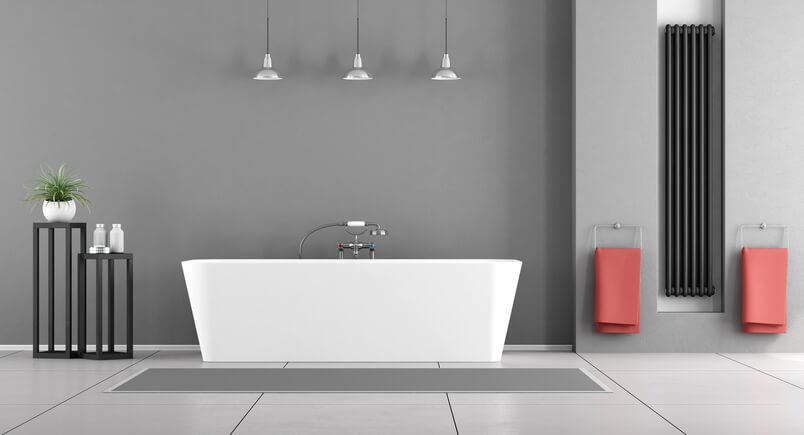 Pareti grigie come rendere la tua casa perfetta e impeccabile - Tinte per interni casa ...