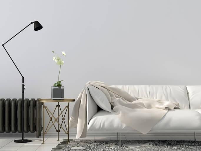 pareti grigie: grigio perla