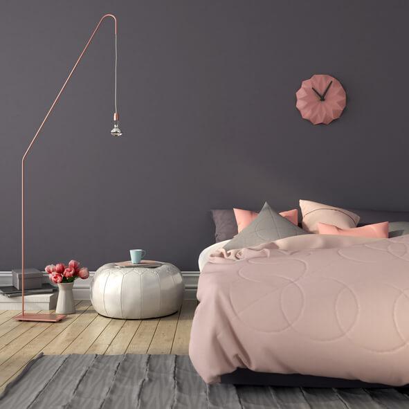 pitturare camera da letto: pareti grigie – Nonsolodonne