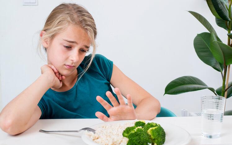 perdita di appetito e sintomi di stanchezza