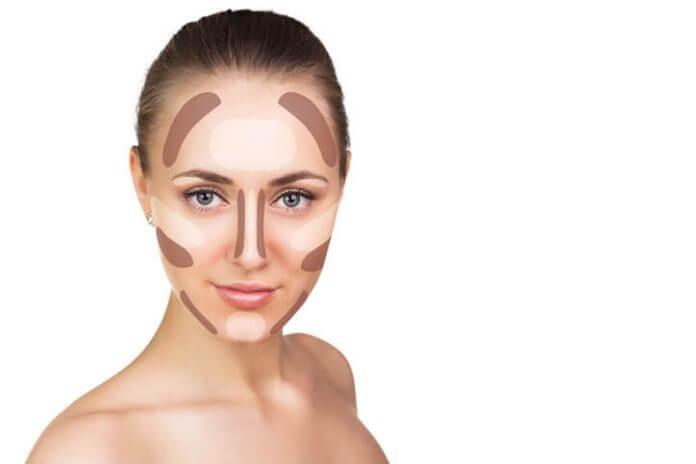 Come fare il contouring: contouring viso tondo