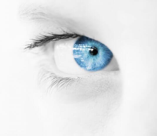 Occhio che balla: occhio sinistro che bella